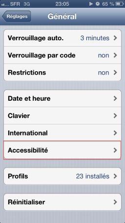 flash led ios6 Astuce iOS6 : Utiliser le flash pour les notifications