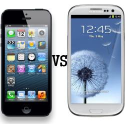 iPhone 5 VS Galaxy S3 LiPhone 5 (déjà) devant le Galaxy S3 sur le web !