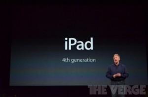 ipad 4 300x198 LiPad 4 désapprouvé par 45% des propriétaires des anciennes générations