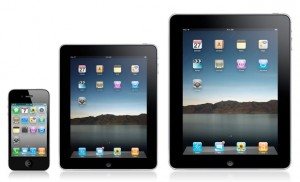 ipad mini ipad iphone 300x182 iPad Mini : La production aurait déjà commencé