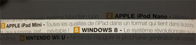 ipad mini fnac 2 Dossier : A quoi va ressembler liPad mini ?