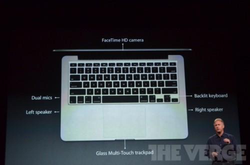 ipadmini 0197 500x330 Keynote : Présentation du nouveau MacBook Pro 13 et de liMac