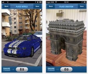 1 300x254 Minecraft Reality : l'application de réalité augmentée sur IOS