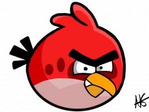 Angry birds 300x225 Angry Art : Quand Angry Birds inspire les artistes