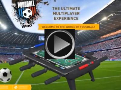 Classic Match Foosball vidéo Classic Match Foosball : LiPad se transforme en babyfoot!
