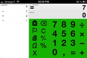 Copie écran 1 300x200 Test de Digits Calculator : Une calculatrice très complète ! (1,79€)