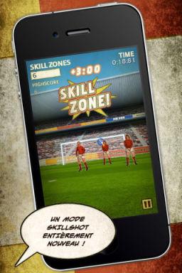 Flick Kick Foot App4Sport #1 : Les meilleurs jeux de football pour votre iPhone/iPad !