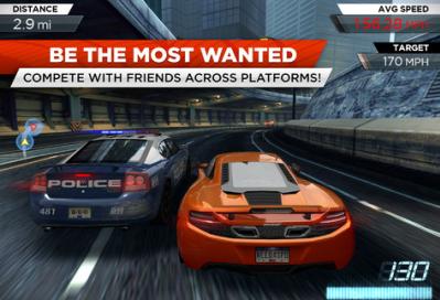 Need for speed most wanted Jeux EA: Les promotions de Noël débutent aujourdhui!