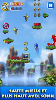 Sonic Jump 3 superbes jeux iOS en promotion pour cette fin de semaine