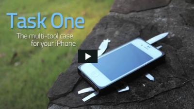 TaskOne vidéo TaskOne : La coque iPhone vraiment multifonctions