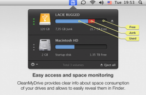Test CleanMyDrive 2 300x195 App4Mac: CleanMyDrive, ou comment bien gérer ses DDE (gratuit)