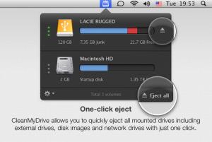 Test CleanMyDrive 3 300x201 App4Mac: CleanMyDrive, ou comment bien gérer ses DDE (gratuit)