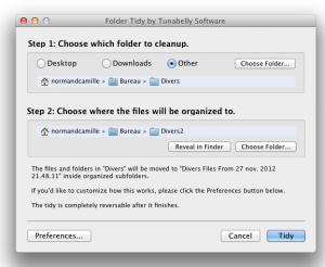 Test Folder Tidy 1 300x246 App4Mac: Folder Tidy, mettre de lordre dans ses dossiers en un tour de main (1,79€)