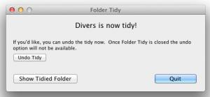 Test Folder Tidy 3 300x139 App4Mac: Folder Tidy, mettre de lordre dans ses dossiers en un tour de main (1,79€)