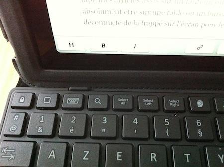 TestEtuiClavierBelkin 008 Test de Létui + clavier YourType pour iPad 2 à 4 de Belkin