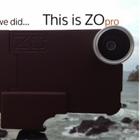 ZoPro1 ZOpro : une coque batterie avec objectifs magnétiques interchangeables (20€)