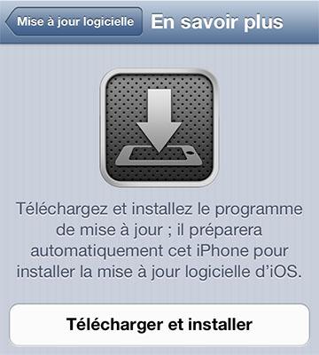 ios 6.0.1 iphone 5 iOS 6.0.1 est disponible au téléchargement