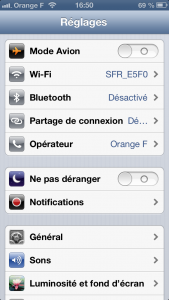 partage connexion 2 169x300 Astuce iOS : activer le partage de connexion sur son iPhone