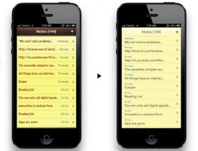 rumeur iOS7 crystal design Les rumeurs de la semaine: iOS7, iCloud, iPad Mini...