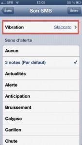 tuto vibration 2 169x300 Astuce iOS : Personnaliser le vibreur de son iPhone !
