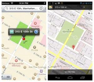 3 300x264 Quand Google Maps pousse les utilisateurs sous iOS6