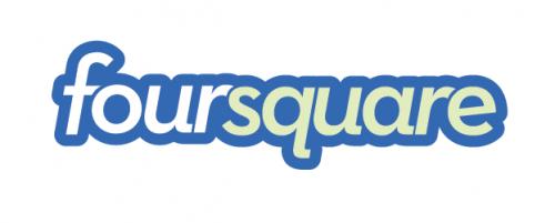 Foursquare logo 1  500x201 Plans : Apple et Foursquare discutent