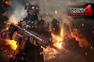 IMG 2375 Test de Modern Combat 4   Zero Hour : De nouveau un très bon FPS...(5,99€)