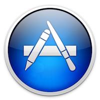 Mac App Store Logo Mac App Store : lapplication et le jeu de lannée 2012 sont...