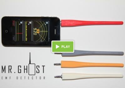 Mr Ghost vidéo Mr Ghost: LiPhone pour jouer les Ghostbusters!