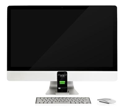 OCDOCK 4 OCDock : Un Dock élégant pour votre iPhone 5 et votre iMac