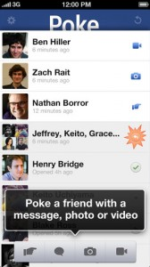 Poke application 168x300 Poke (gratuit) : Facebook lance son application pour poker ses amis