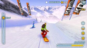 Snow Hero 1 Dévalez gratuitement les pistes enneigées en Snowboard avec ce superbe jeu !