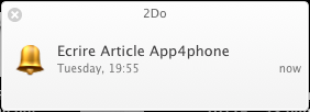 Test 2Do 5 App4Mac: 2Do, un vrai planner pour gérer le quotidien (26,99€)