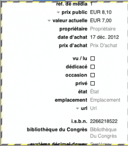 Test Delicious Library 8 265x300 App4Mac: Delicious Library 2, un inventaire version 2.0 (30,99€)