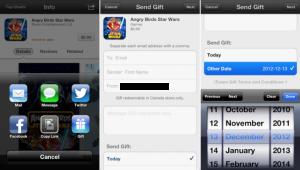 app gifting ios 6 300x170 Apple vous permet doffrir encore plus simplement des applications à vos amis pour Noël !