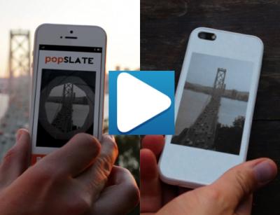 popSlate vidéo PopSlate offre un deuxième écran à votre iPhone!