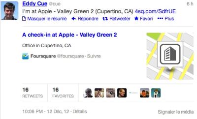 rumeur Apple Foursquare Les rumeurs de la semaine: iPhone 6, iTV, Apple TV, iPhone 5S...