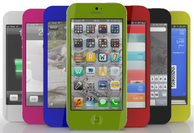 rumeur iPhone 5S couleurs Les rumeurs de la semaine: iOS 7, iPad mini 2, iPhone 6, iPad 5...