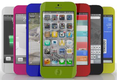 rumeur iPhone 5S couleurs Les rumeurs de la semaine: iPhone 6, iTV, Apple TV, iPhone 5S...