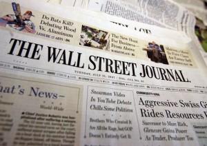 wall street journal 300x212 La pire publicité de 2012 est signée... Apple !