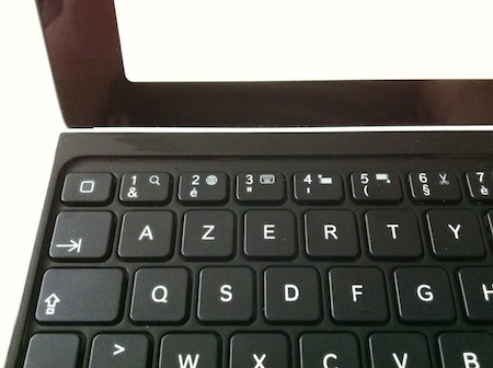 CcrsKeyboardCover 008 Concours : 1 Ultrathin Keyboard Cover pour iPad à gagner (99€)