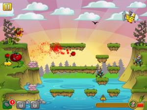 Copie décran 17 300x225 Test de I am Vegend   Zombiegeddon : Fruits vs. Zombies (1,79€)