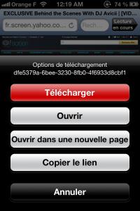 Copie décran 29 200x300 Test de iDownloader Pro : Vos fichiers à portée de doigt (1,79€)