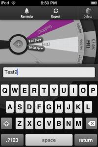 Copie décran 39 200x300 Test de Sooner : Une ToDo List à linterface atypique (2,69€)