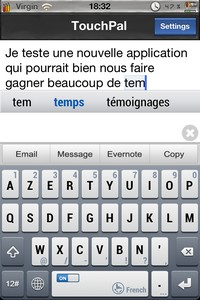 IMG 2526 Lapplication gratuite du Jour : TouchPal Keyboard