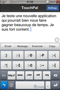 IMG 2528 Lapplication gratuite du Jour : TouchPal Keyboard