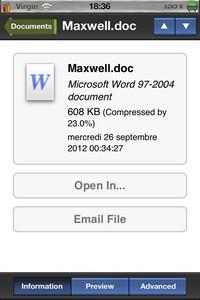 IMG 2553 Archives : Un lecteur darchives compressées sur iDevice... (2,69€)