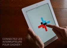 ON OFF 1 iPad et iPhone blanc : promotions des apps non autorisées