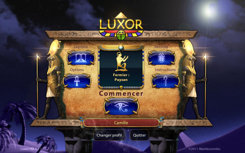 Test Luxor 1 500x312 App4Mac: Luxor HD, attention à ne pas perdre la boule (4,49€)
