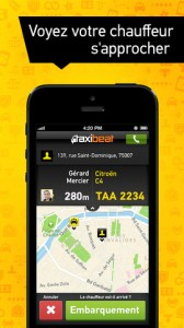Test Taxibeat 3 168x300 Lapplication gratuite du jour: Taxibeat